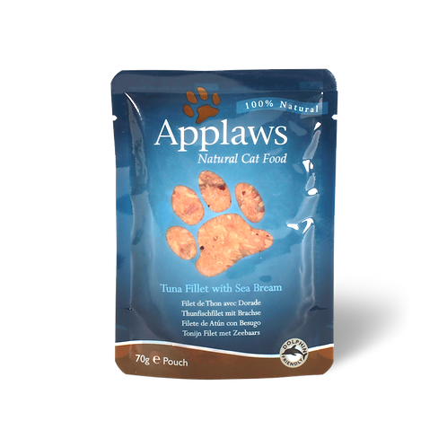 Applaws Tuna Fillet with Seabream 70g