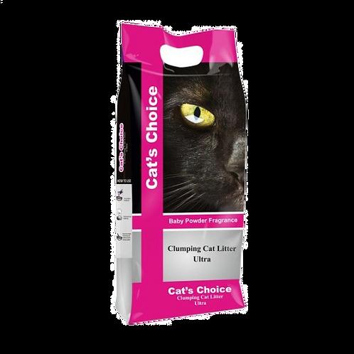 Cat's Choice Clumping Cat Litter Ultra 10kg