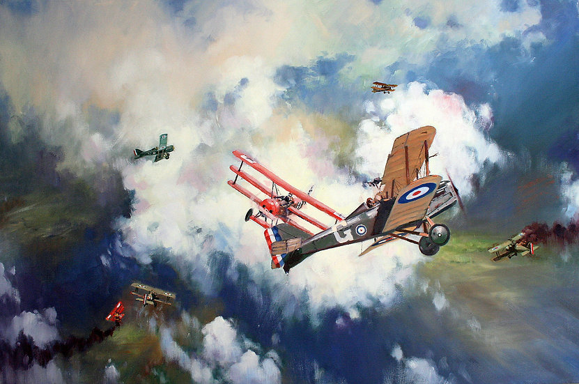Encounter with the Red Baron