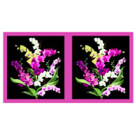 Orchid Fancy Panel