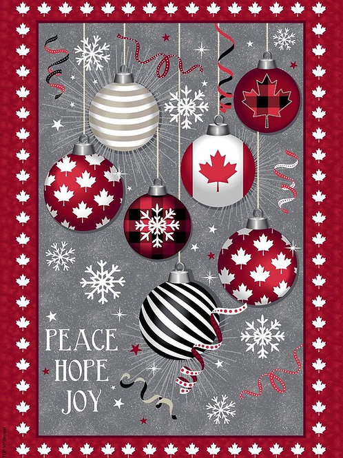 Canadian Christmas Panel
