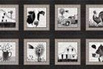 Buttermilk Farmstead - 9 Block Panel
