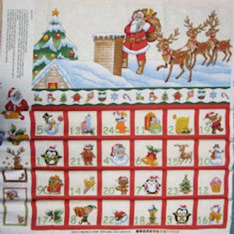 Santa Advent Panel