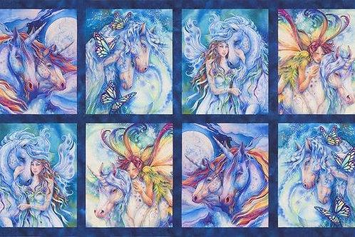 Morning Moon Unicorn-Fairy Panel