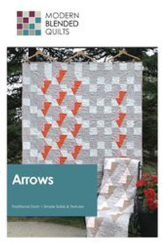 Modern Blended Quilts - Arrows Pattern