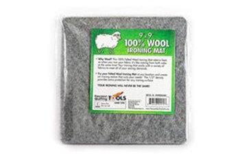 "Bundle #3 - Wool Pressing Mat 9"" x 9"" + 6oz. Best Press"