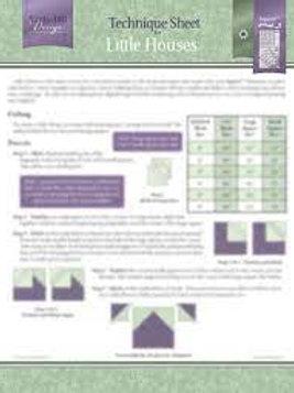 Little Houses Technique Sheet