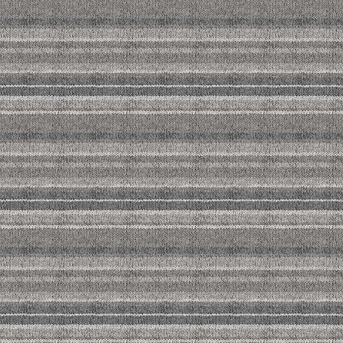 My Canada - Gray Knit Stripe