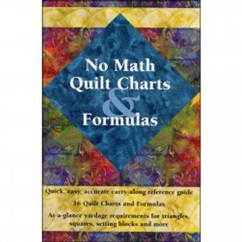 No Math Quilt Charts & Formulas - A Pocket Guide