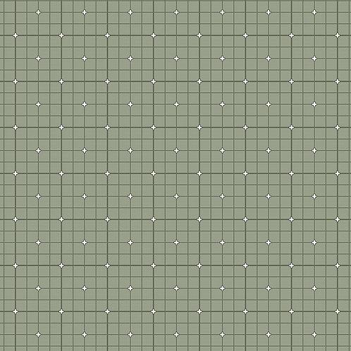Serenity | Grid in Pistachio