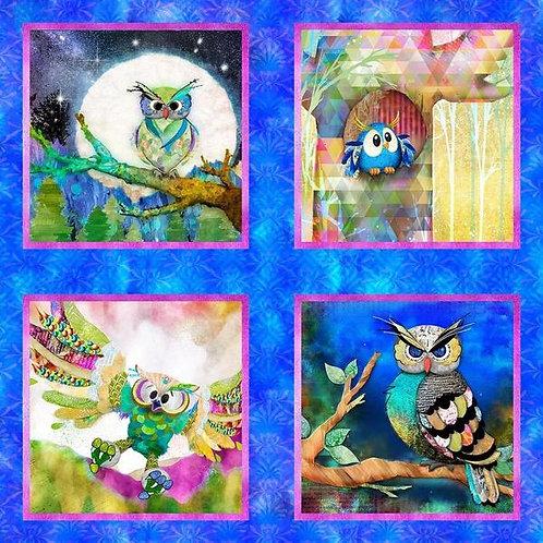 3 Wishes Royal Owl Panel