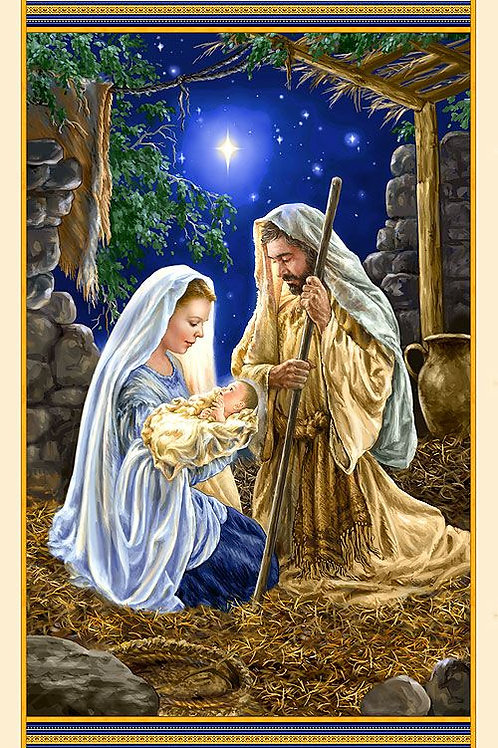 Glory - Nativity Panel