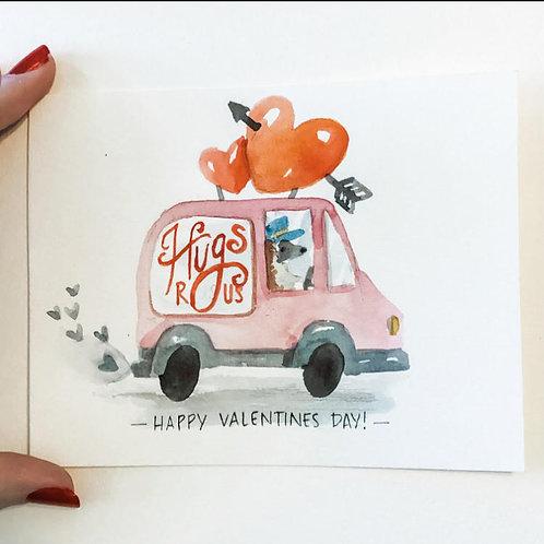 Hugs for Sale Valentines - Digital Download