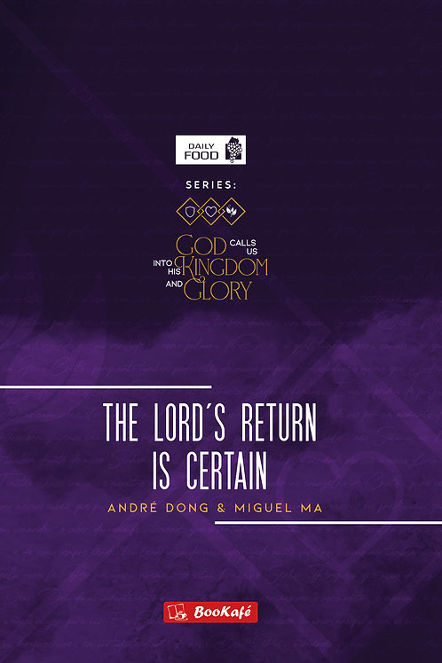 eBook - THE LORD'S RETURN IS CERTAIN (Daily Food)