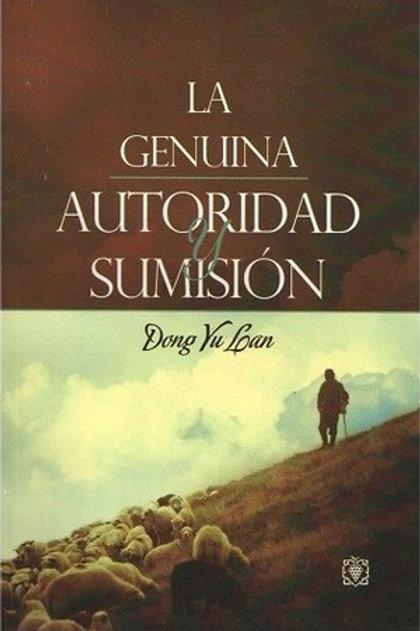 LA GENUINA AUTORIDAD Y SUMISION