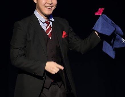 マジシャンのたっちを札幌市内の企業のパーティーに派遣