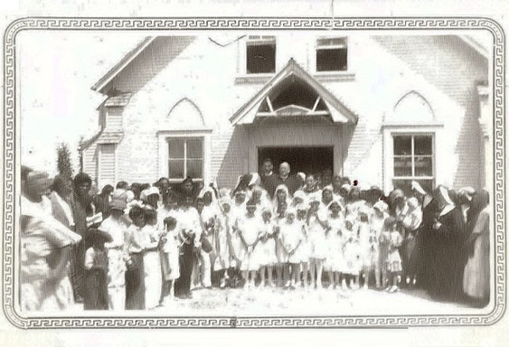 St. Augustine's First Holy Communion 1933