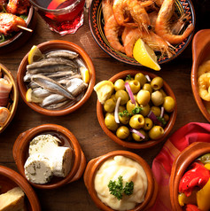 Boquerones/Calamares /Gambas/Olives