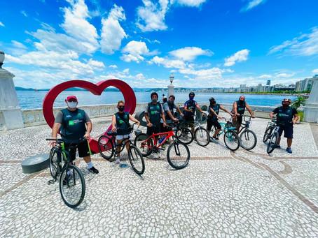 Cultura, lazer e solidariedade: veja como foi o Pedal Parceiro em prol da campanha #TodosPeloTurismo