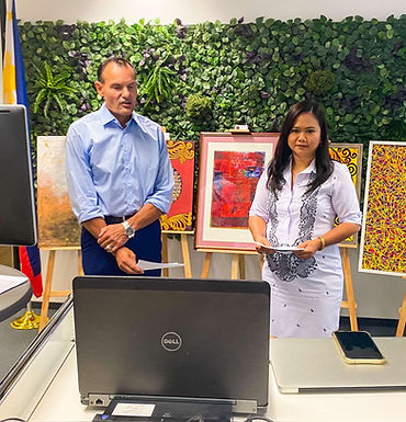 Envisioning Healing and Inspiration from Abroad: Overseas Filipinos Supporting Filipino Artists in T