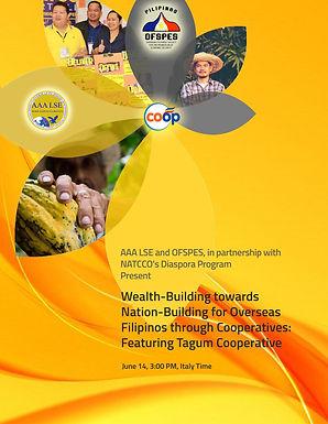 Community Development: OFSPES, AAALSE, NATCCO Webinar Series