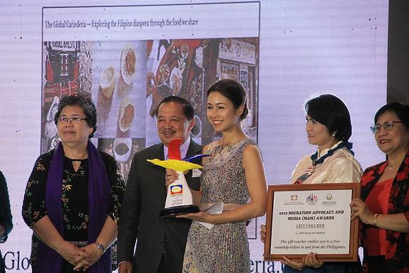 Jennifer Fergesen's Global Carinderia wins MAM Award