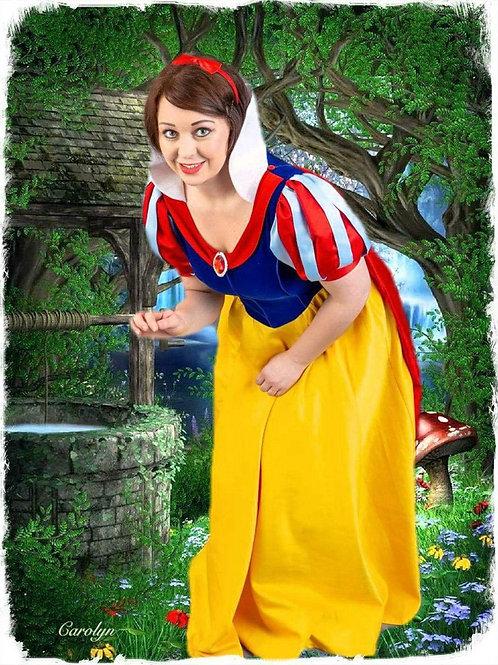 Fairest Princess Visit Card