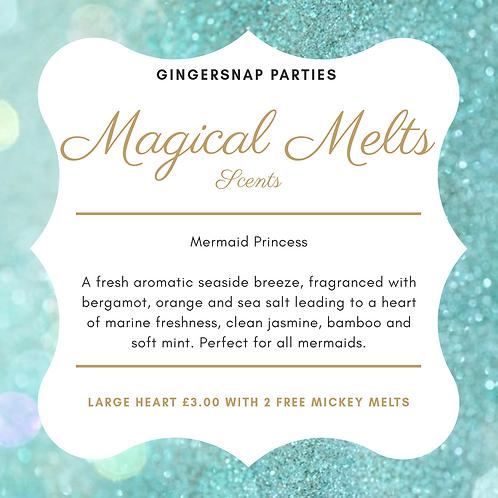 Mermaid Princess wax melts