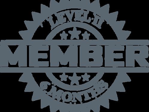 Level II 6 Months Membership