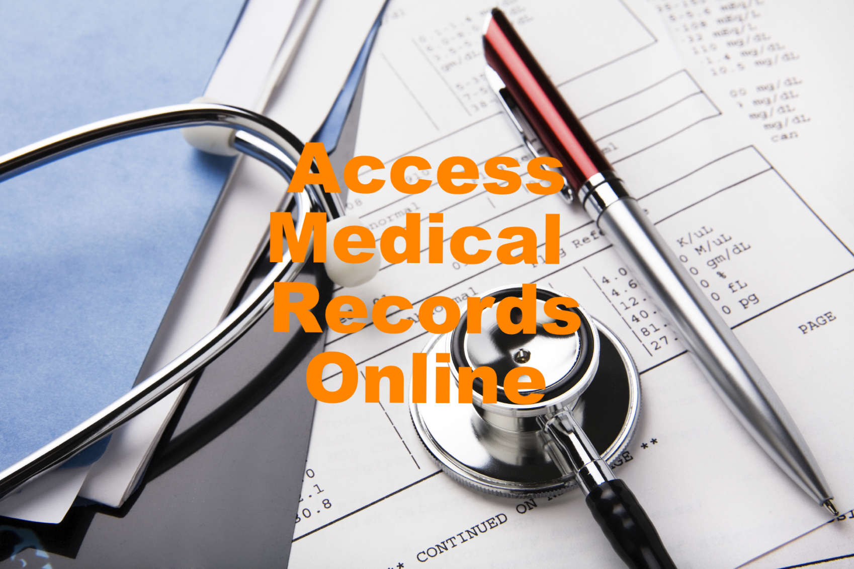 Access Medical Records Online