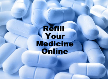 Refill Your Medicine Online