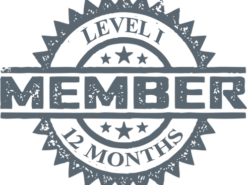 Level I 12 Months Membership