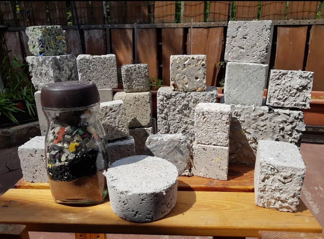 Masuko waste light concrete