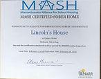 MASH Certified Lincoln's House Metheun 01844