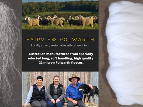 Single sourced Fairview Polwarth Top