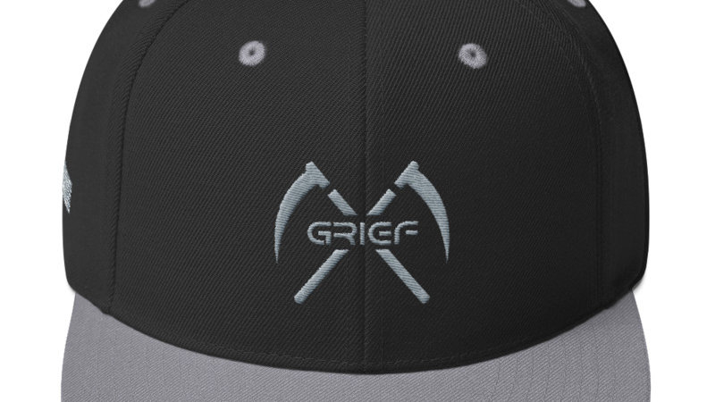 Grief Hat Black/Grey