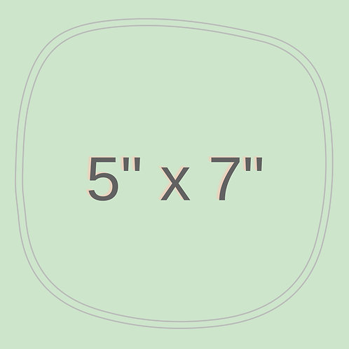 "5""x 7"""