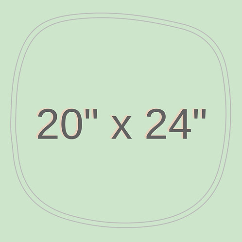 "20"" x 24"""