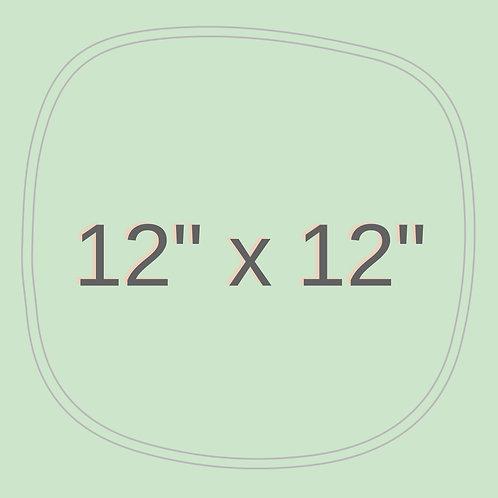 "12"" x 12"""