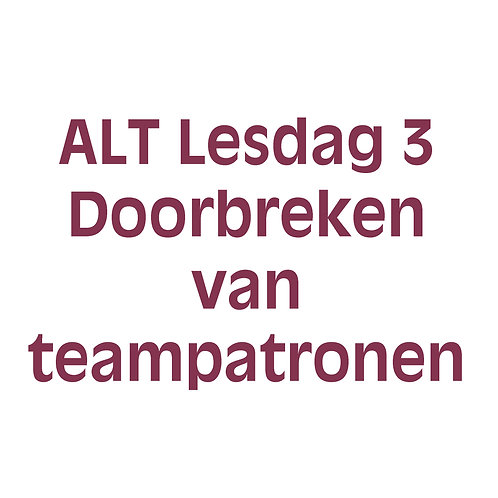 4 daagse agile-lean teamcoach training - Lesdag 3