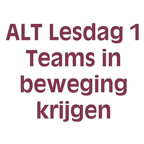 4 daagse agile-lean teamcoach training - Lesdag 1