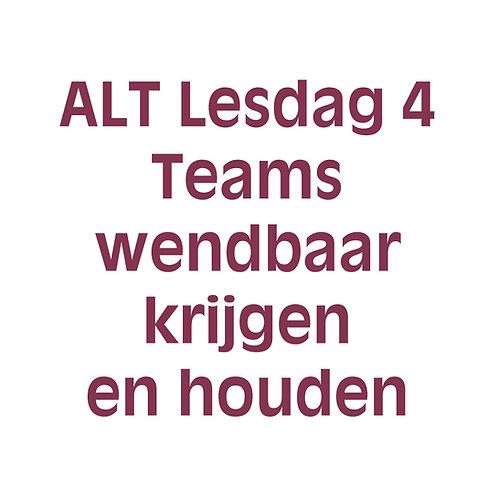 4 daagse agile-lean teamcoach training - Lesdag 4