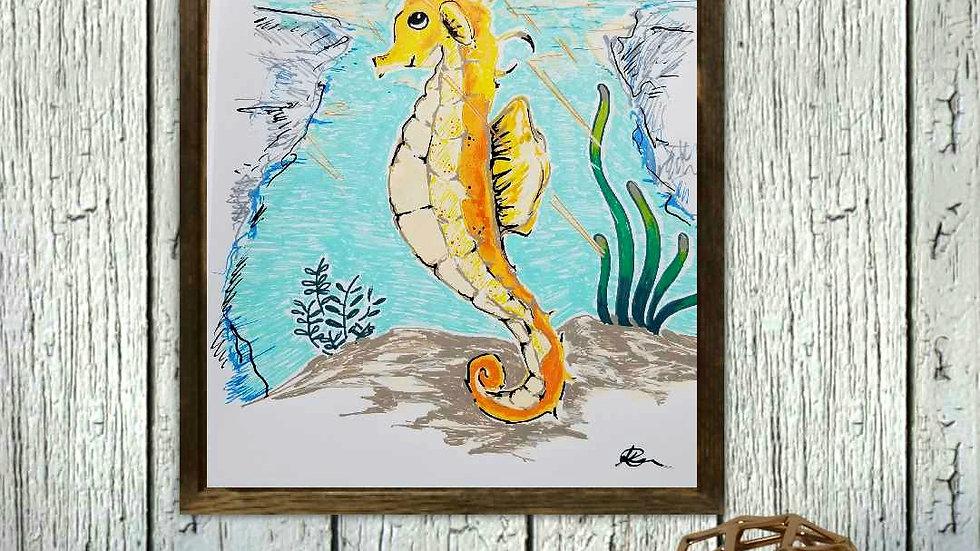 Sunny the Seahorse