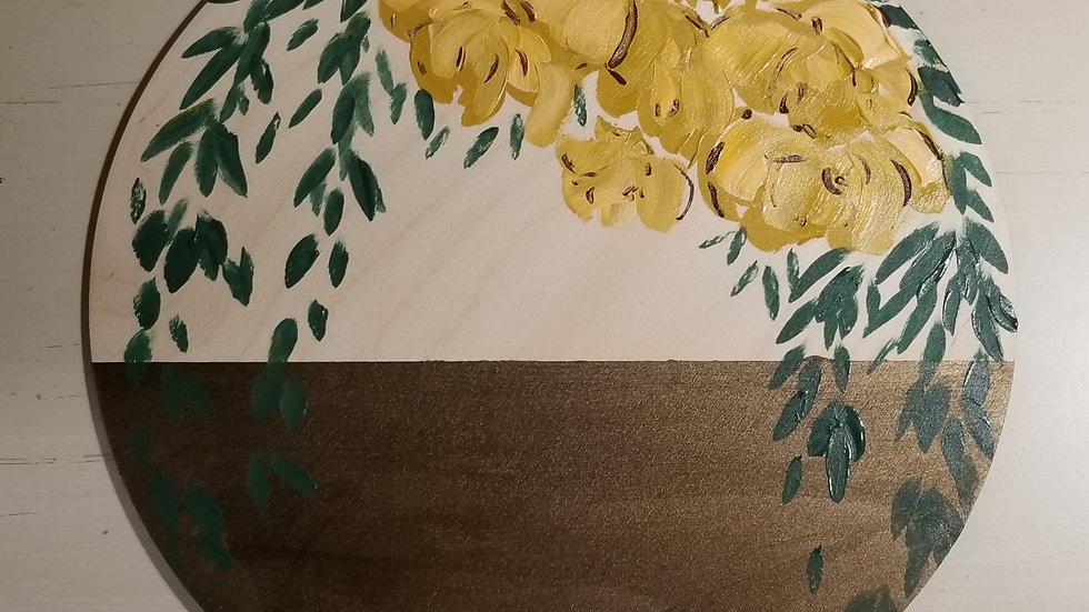 Butter Bouquet- Wood Canas