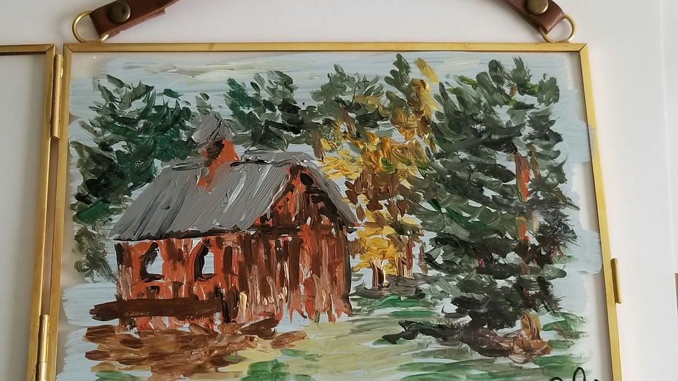 Up North Glass Painting