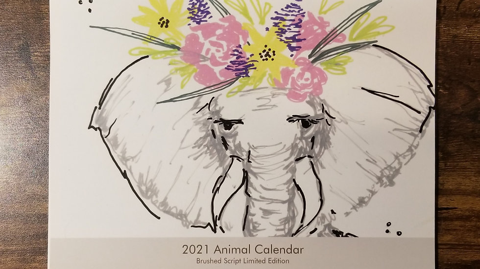 Animal Calendar -Limited Edition