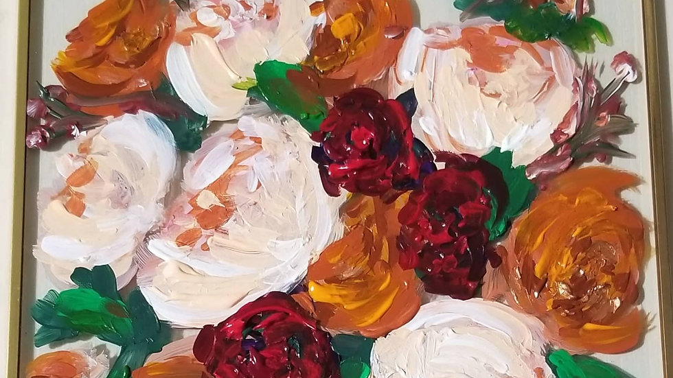 Pink Rust Bouquet
