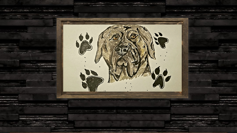 Bullmastiff Illustration