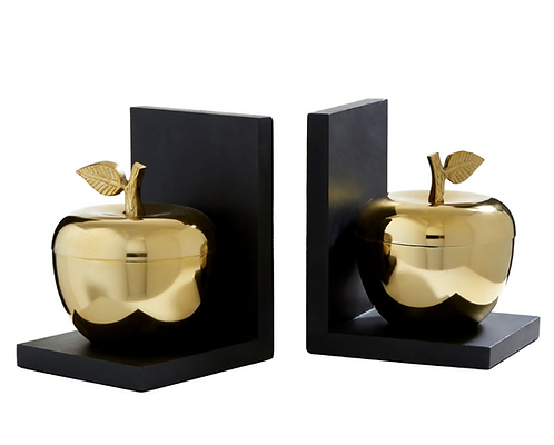 Set Of 2 Apple Bookends