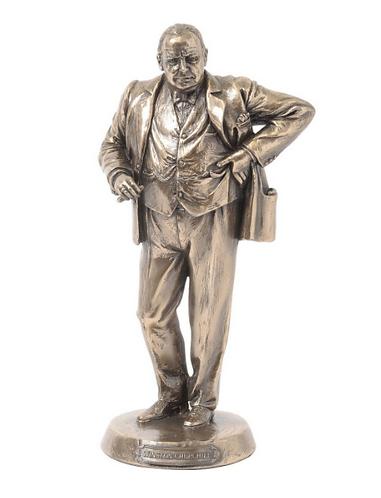 Millbeck Bronze Finish Winston Churchill Sculpture